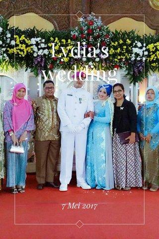 Lydia's wedding 7 Mei 2017