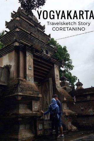 YOGYAKARTA Travelsketch Story CORETANINO
