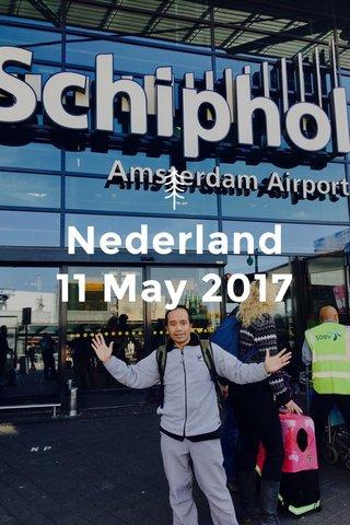 Nederland 11 May 2017