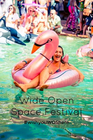 Wide Open Space Festival #wishyouWOShere