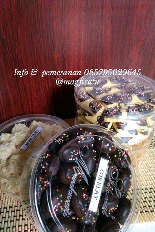 Info & pemesanan 085795029645 @magfiratu