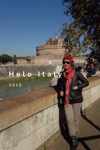 Helo Italy 2015