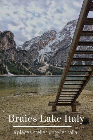 Braies Lake Italy #places steller #stelleritalia