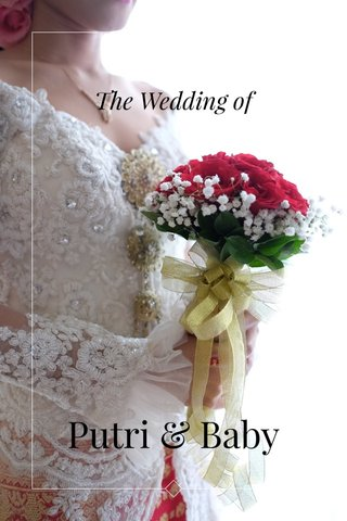 The Wedding of Putri & Baby