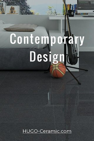 Contemporary Design HUGO-Ceramic.com