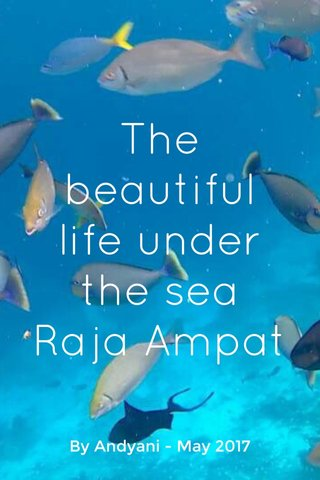 The beautiful life under the sea Raja Ampat By Andyani - May 2017