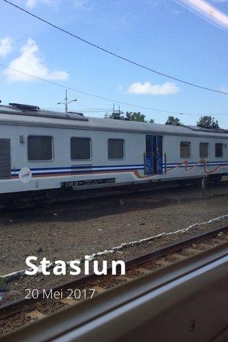 Stasiun 20 Mei 2017