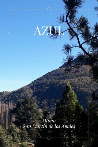 AZUL Otoño San Martín de los Amdes