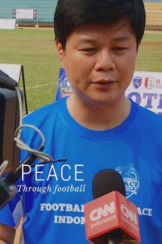 PEACE Through football
