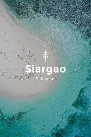 Siargao Philippinen