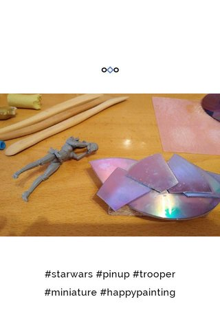 #starwars #pinup #trooper #miniature #happypainting