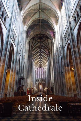 Inside Cathedrale