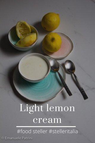 Light lemon cream #food steller #stelleritalia