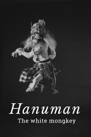 Hanuman The white mongkey