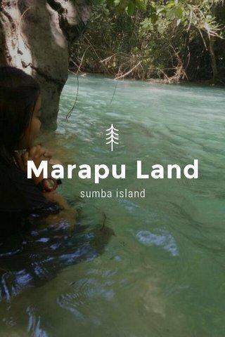 Marapu Land sumba island