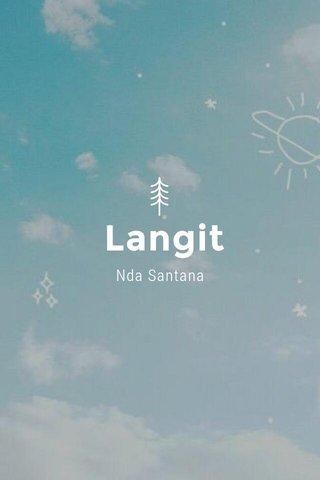 Langit Nda Santana
