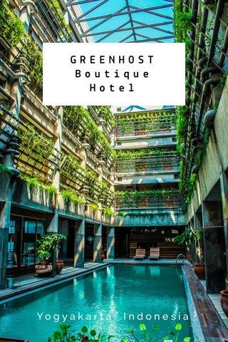 GREENHOST Boutique Hotel Yogyakarta, Indonesia