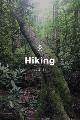 Hiking July '17