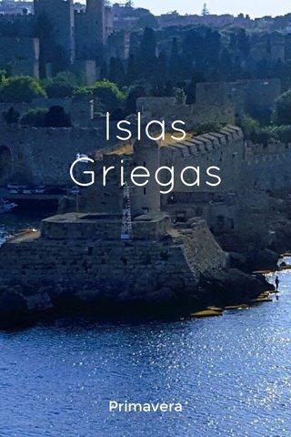 Islas Griegas Primavera