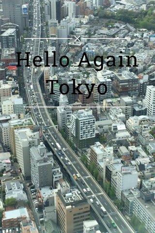 Hello Again Tokyo