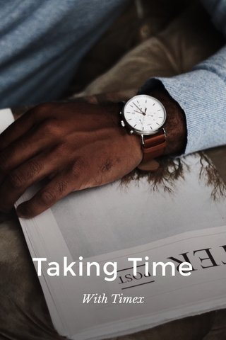 Taking Time With Timex