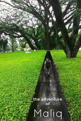 Maliq the adventure of