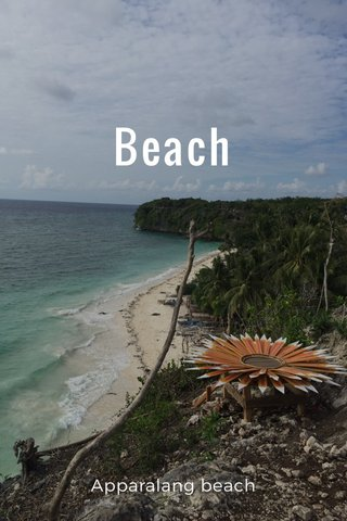 Beach Apparalang beach