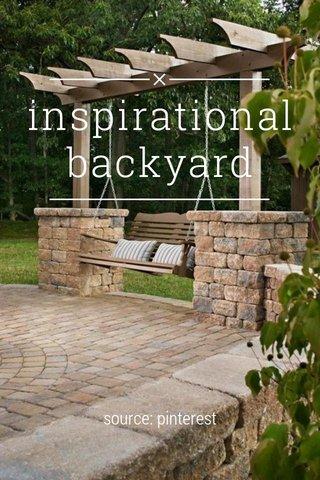 inspirational backyard source: pinterest