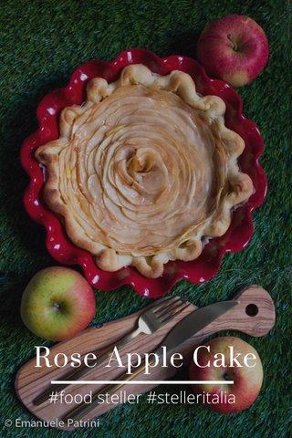 Rose Apple Cake #food steller #stelleritalia