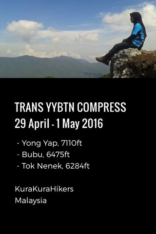 TRANS YYBTN COMPRESS 29 April - 1 May 2016