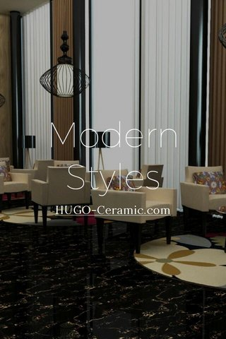 Modern Styles HUGO-Ceramic.com