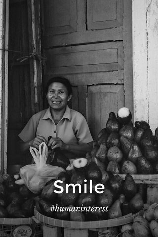 Smile #humaninterest