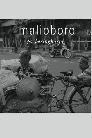 malioboro ps. beringharjo
