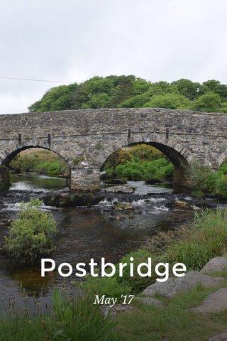 Postbridge May '17