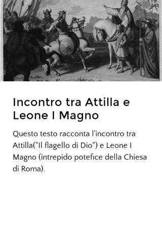 Incontro tra Attilla e Leone I Magno