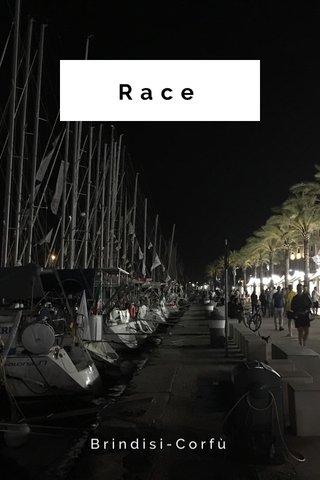 Race Brindisi-Corfù