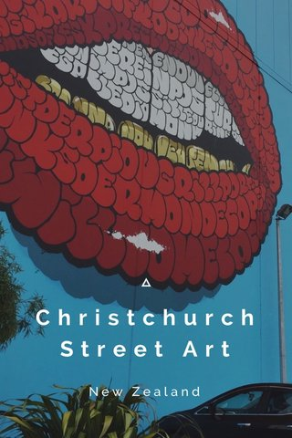 Christchurch Street Art New Zealand