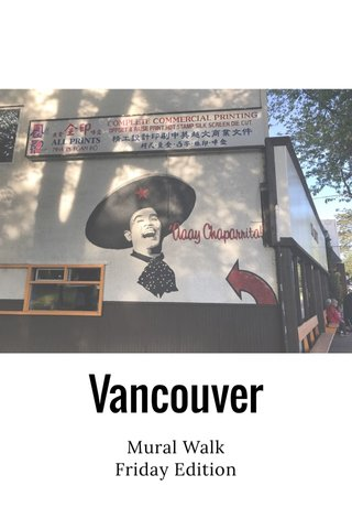 Vancouver Mural Walk Friday Edition
