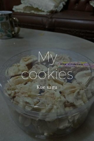 My cookies Kue sagu