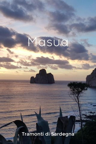 Masua Tramonti di Sardegna