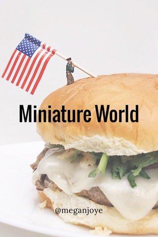 Miniature World @meganjoye