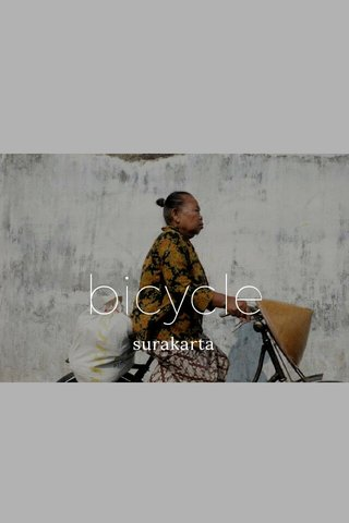 bicycle surakarta