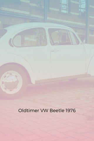 Oldtimer VW Beetle 1976
