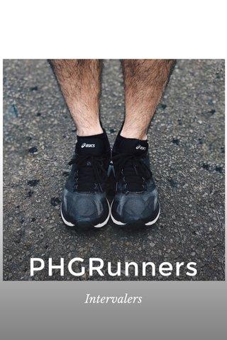 PHGRunners Intervalers