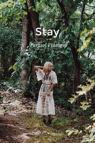 Stay Parasol Vintage