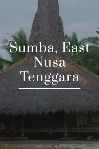 Sumba, East Nusa Tenggara