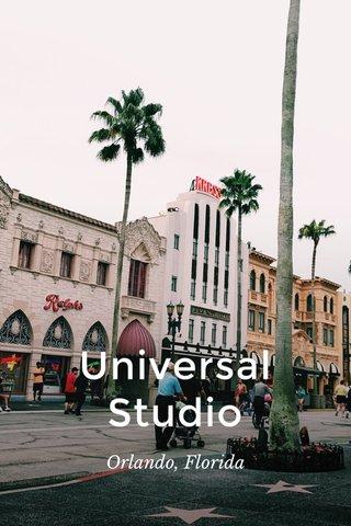 Universal Studio Orlando, Florida