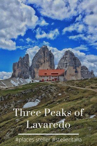 Three Peaks of Lavaredo #places steller #stelleritalia