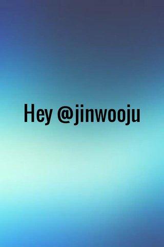 Hey @jinwooju