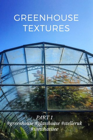 GREENHOUSE TEXTURES PART 1 #greenhouse #glasshouse #stelleruk #seewhatisee